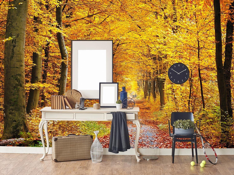 3D golden Grove Straße 7 Tapete Wandgemälde Tapete Tapeten Bild Familie DE Lemon