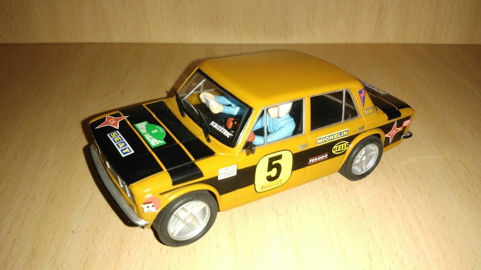 Scalextric seat 1430 altaya Rallys miticos collection