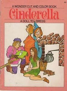 1971-A-WONDER-CUT-AND-COLOR-BOOK-CINDERELLA-A-PAPER-DOLL-TO-DRESS
