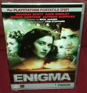 1-DVD-FILM-KATE-WINSLET-MICK-JAGGER-MOVIE-ENIGMA-IL-CODICE-CHE-CAMBIo-LA-STORIA