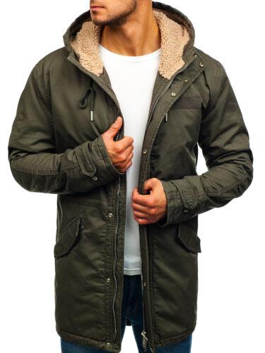 Jacket Coat Winter Thermal Uomo invernale 4d4 Giacca Alaska Coat Bolf Hood Parka qpxgSwOFta