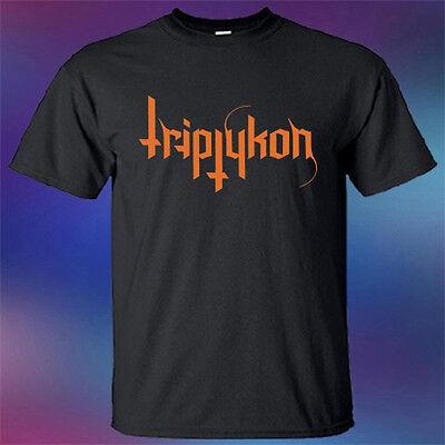 New Triptykon Extreme Metal Band Logo Mens Black T-Shirt Size S-3XL