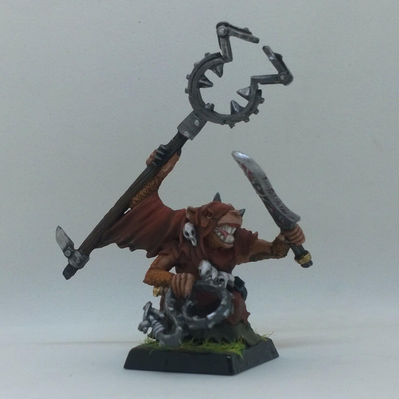 Warhammer Fantasy Battles (AOS) SKAVEN Metal Pro Pintado THrojo el inmundo