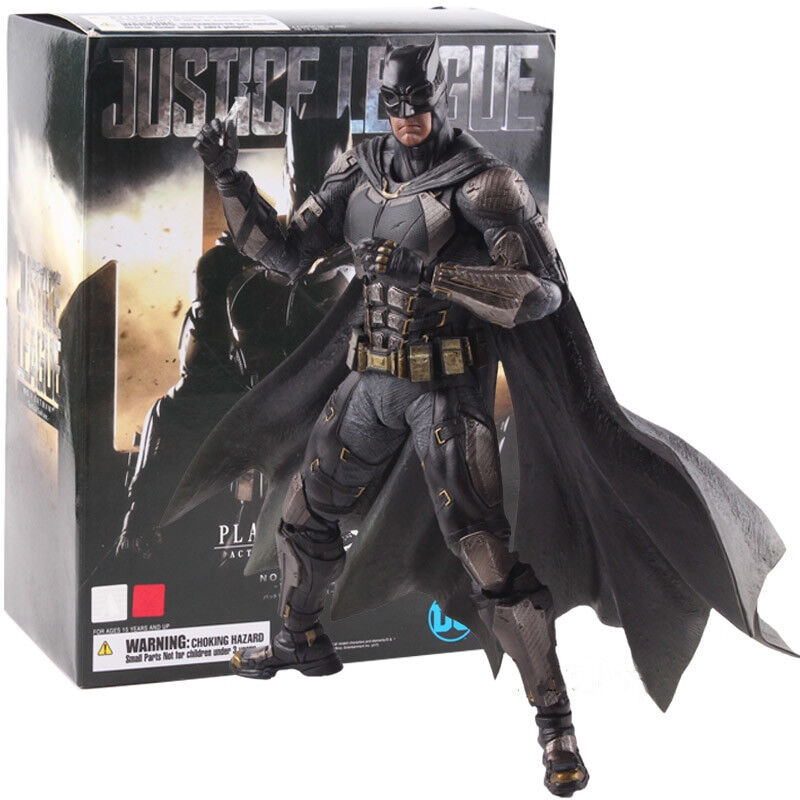 DC Justice League Play Arts Kai Batman Tactical Suit Version PVC Action Figure