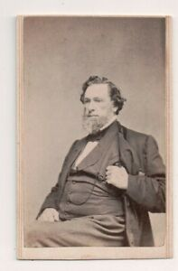 Vintage-CDV-W-Harry-Grant-Member-Connecticut-State-House-1862-amp-63