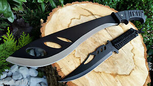 Machete-Messer-Knife-Bowie-Buschmesser-Coltello-Hunting-Macete-Machette-Couteau