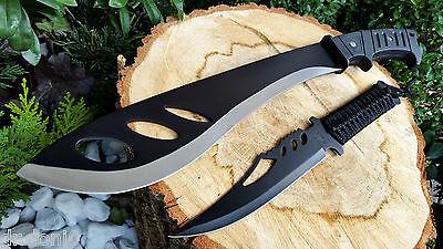 Machete + Coltello Knife Bowie Busch Coltello Coltello Hunting Macete Machette Couteau- Disponibile In Vari Disegni E Specifiche Per La Vostra Selezione