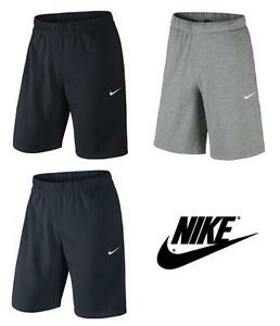 Mens-Nike-Crusader-Cotton-Jersey-Casual-Training-Gym-Sports-Shorts-Knee-Length