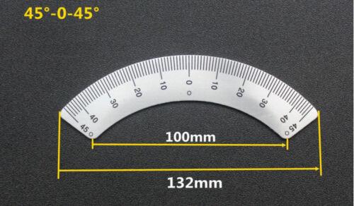 Bridgeport Mill Part Milling Machine 45° degree angle plate Ruler