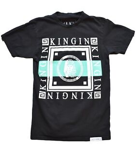4134fb291e5 Last Kings Kingin Tilly s Mens T-Shirt Sz Small Black Short Sleeve ...