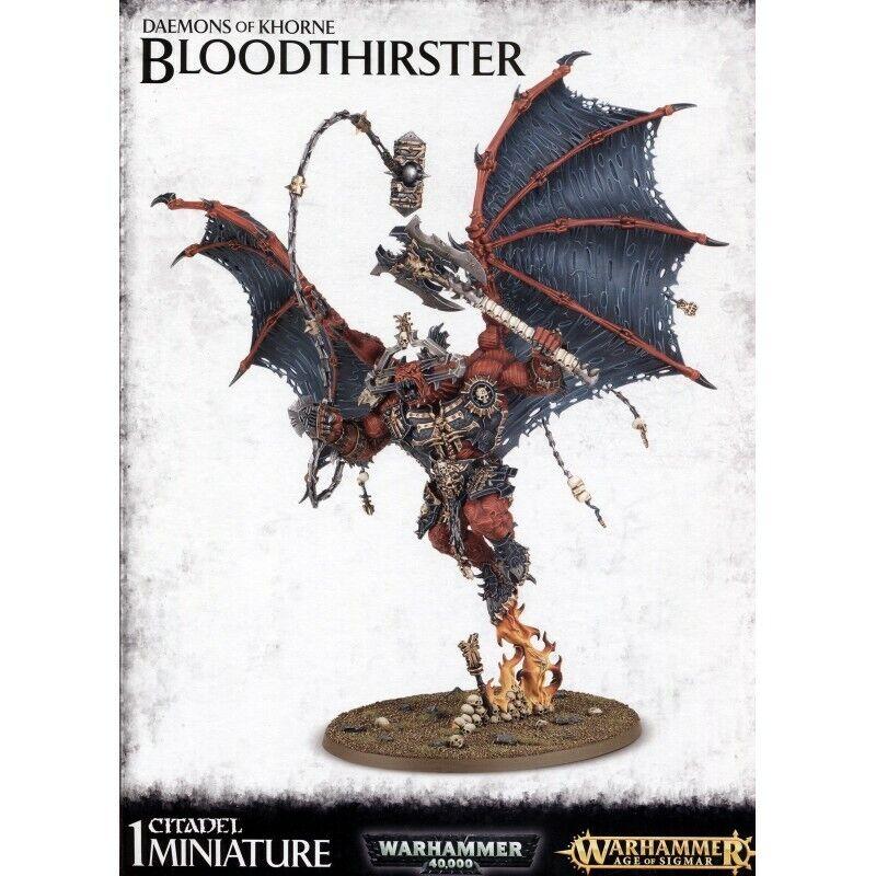 Warhammer 40K  Daemons Of Khorne Bloodthirster 97-27