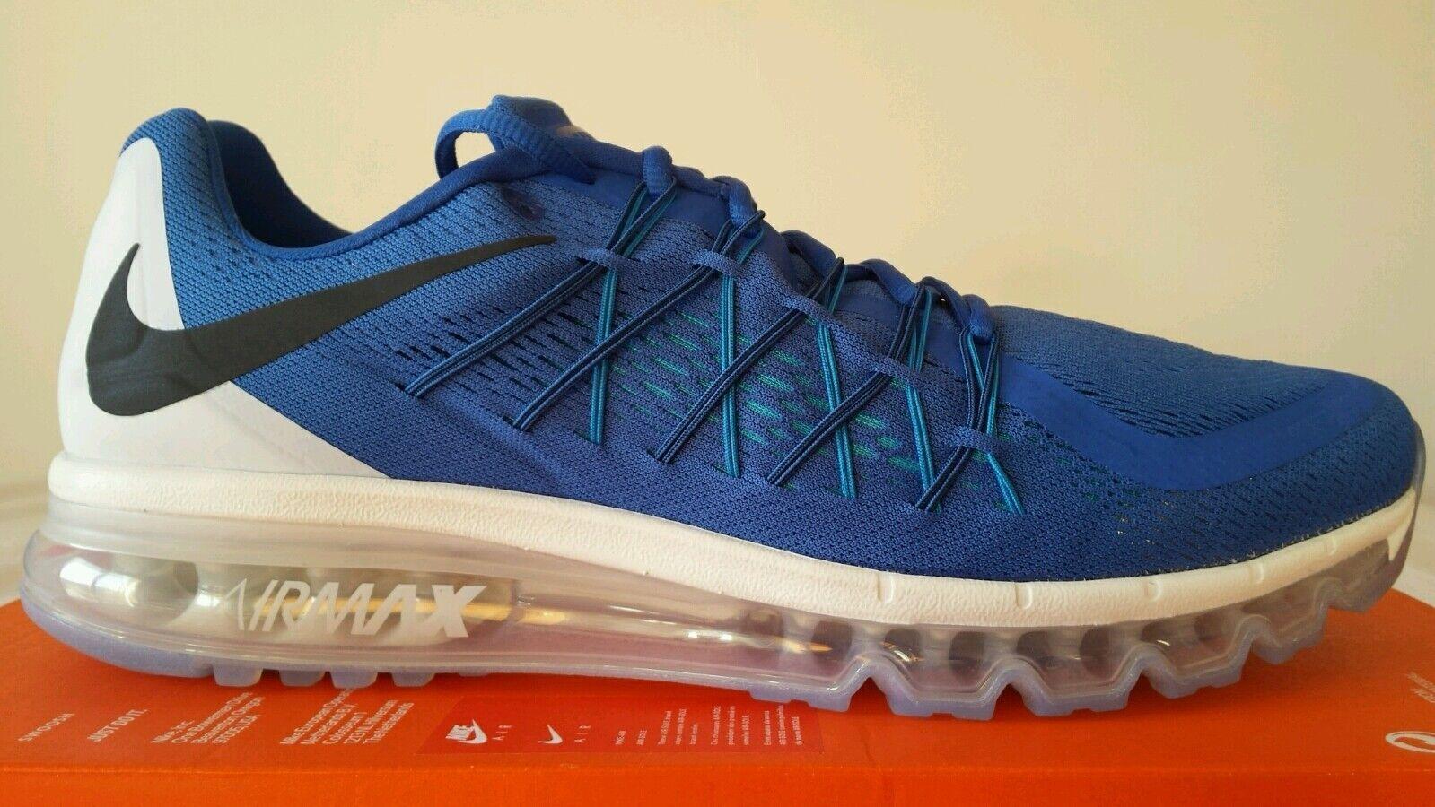 97 2015 MAX NIKE Blau AIR APPELLE UN N.45,5 97 schwarz