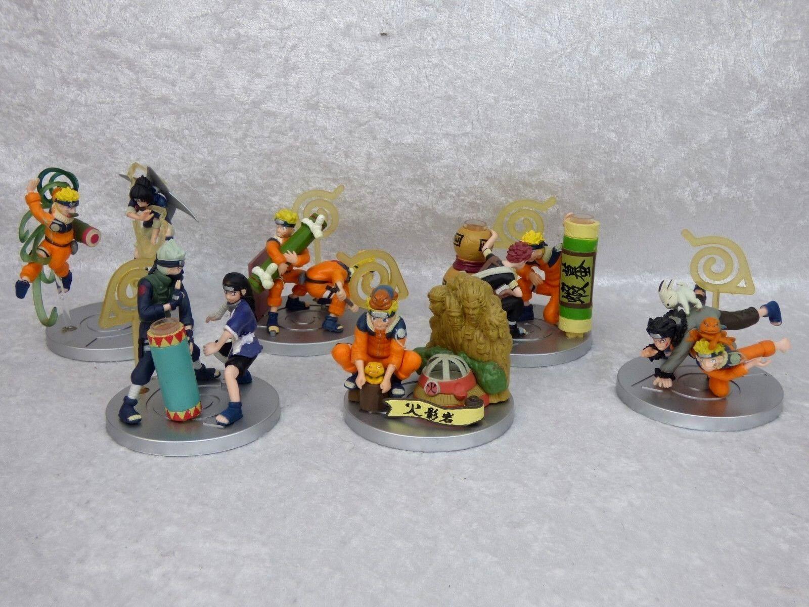 NARUTO Superbes Superbes Superbes Figurines lot bundle (6cm x 3cm) 27ee6a