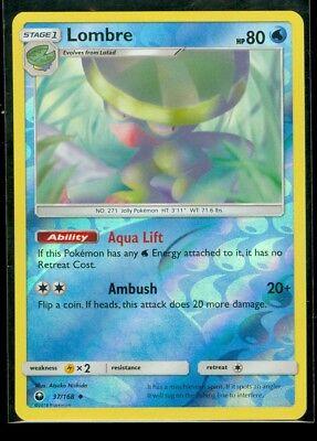 Pokemon LOMBRE 37//168 Rev Holo Celestial Storm MINT