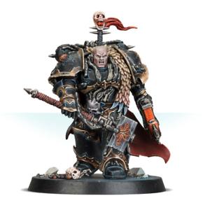 Chaos Lord Chaos Marines Comisión magníficamente pintado warhammer 40K