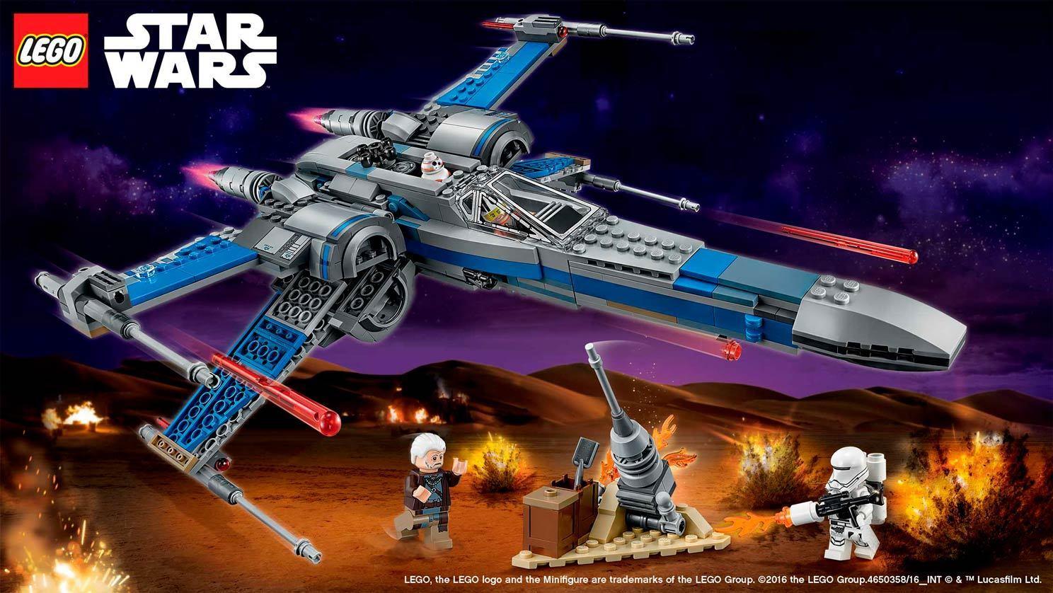 LEGO 75149 Resistance X-wing  Fighter™ - STAR WARS 8-14anni Pz 740  la meilleure sélection de