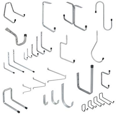 OCGIG 48//123cm Werkzeugaufh/änger Organizer Garten Wandhalterung Garagenst/änder Griff Verstellbares Aufbewahrungssystem Haken Garagenorganisation