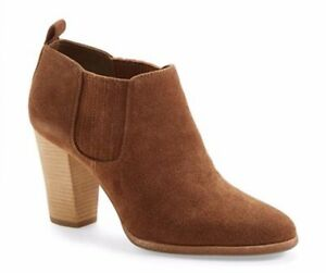 aaee4ee4c34c Michael Kors Shaw Bootie Pull On Mid Ankle Fashion Boots Shoes Dark ...