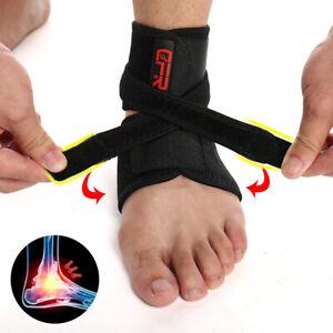 Ankle-Support-Breathable-Brace-Basketball-Running-Stabilizer-Sprain-Men-Women-HG