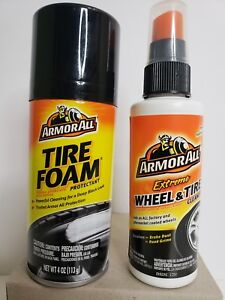 Details About Armorall Wheel Tire Duo Extreme Wheel Tire Cleaner Tire Foam Protectant