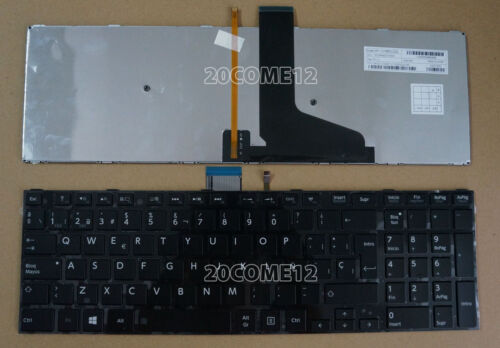 New FOR Toshiba Satellite S50-A S50D-A S50t-A Keyboard Spanish Teclado Backlit