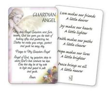 MY DEAR GUARDIAN ANGEL - LAMINATED VERSE / PRAYER CARD - OTHER ONES ARE LISTED