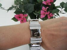D&G Dolce & Gabbana Women's Wrist Watch Silver Stainless Steel & Crystals NIB