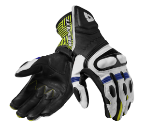 REV/'IT Metis Mens Motorcycle Gloves Black//Blue FGS138-1300