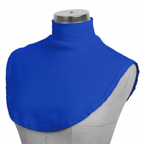 Detachable Cotton Fake Turtleneck False Neck Dickey Mock Blouse Collar Neckline