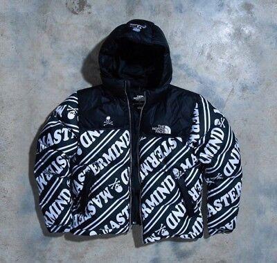 b1d880636 Mastermind x The North Face Nuptse Puffer Jacket Black/White TNF US/UK M  ASIA L | eBay