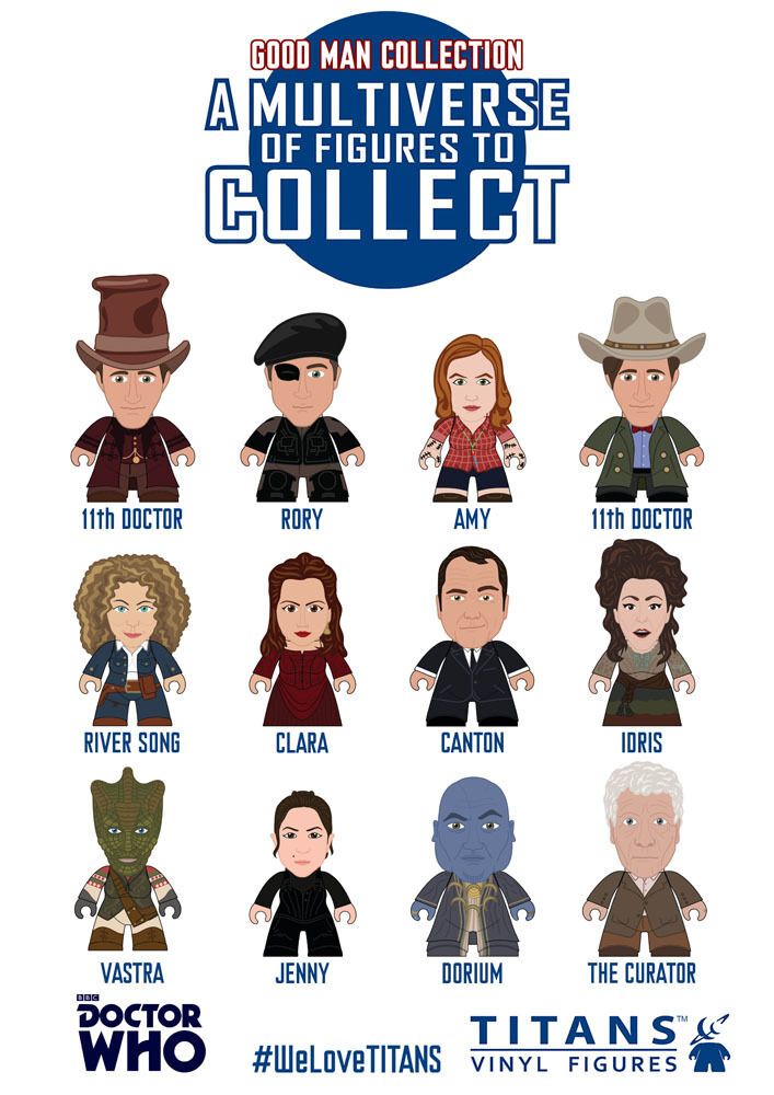 TITANS - BBC DOCTOR WHO - GOOD MAN COLLECTION - FIGURINE SELECT