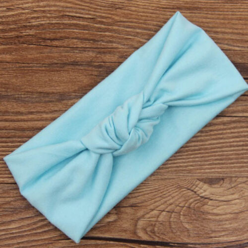 Girls Kids Girl knotted Hairband Baby Headband Turban Knot Head Wrap
