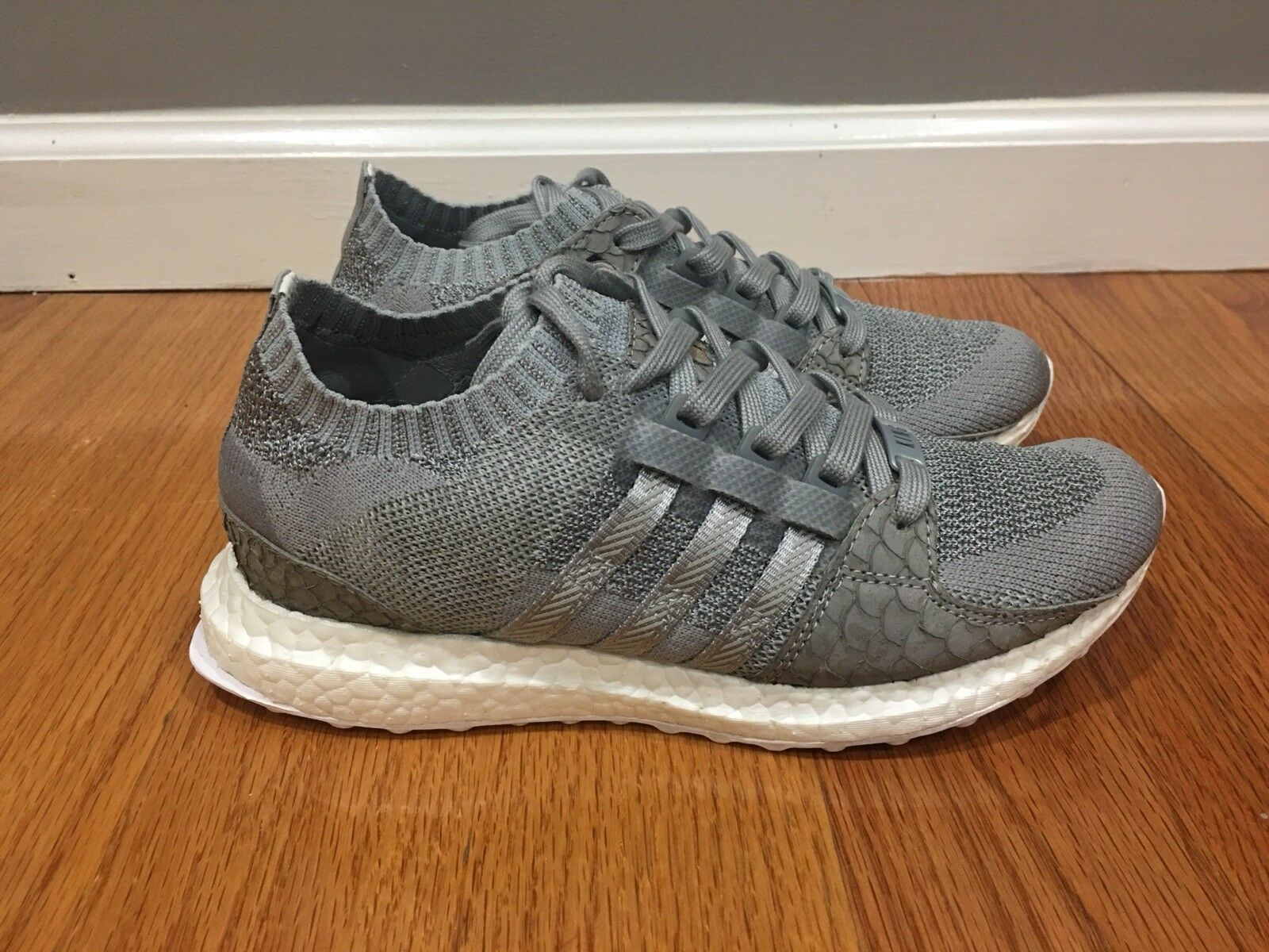 Adidas EQT Support Ultra PK Pusha T Grey Scale - S76777 - Size 5