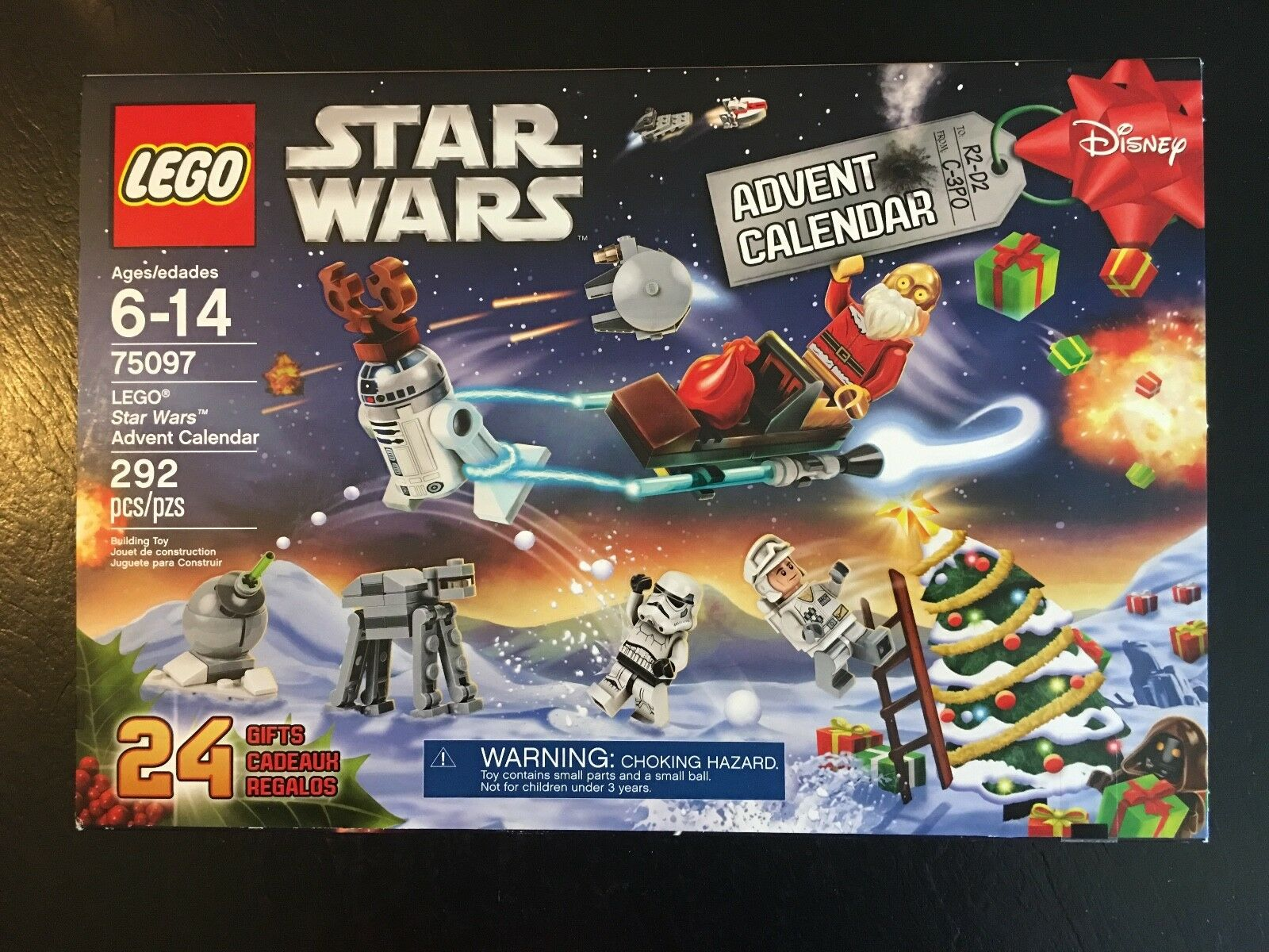 LEGO STAR WARS 75097 75097 75097 2015 Christmas Advent Calendar - FACTORY SEALED - RETIRED 660c54