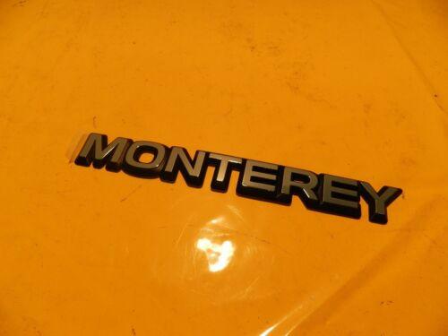 schwarz Monterey A ORIGINAL OPEL 5177000 Emblem MONTEREY chrom