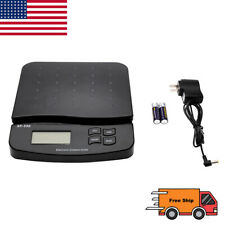 66lb Digital Postal Shipping Lcd Tabletop Scale Weight Postage Kitchen Adapter