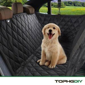 Couverture de siège de voiture de Tophgdiy Pet, chien de support pointillé antidérapant en tissu 4895189576134