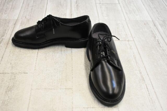 Bates Leather Uniform Oxford Shoes