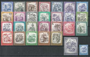 Osterreich-1973-78-Freimarken-034-Schoenes-Ostereich-034-mit-allen-ErgWerten