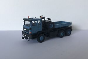 Fertig-Resin-HO-1-87-Faun-FZ-40-45-45-6x6-UdSSR-Blau-1984-Fankit-Models