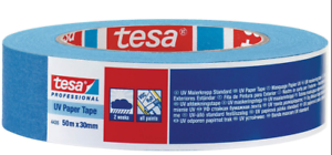 TESA Standard Painter Band Masking Tape Blue 30mm X 50m