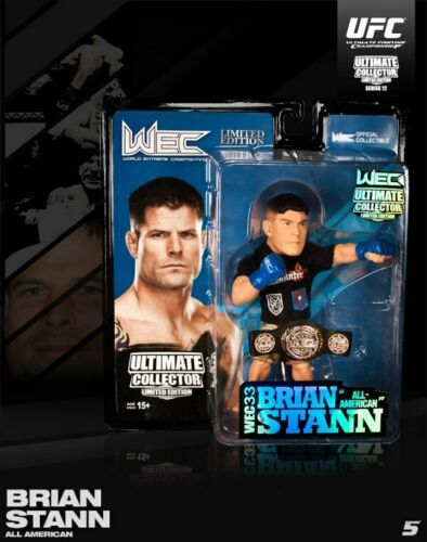 """Brian /""""All American/"""" Stann UFC Ultime Collector SERIES 12 Limited Edt Round 5"""