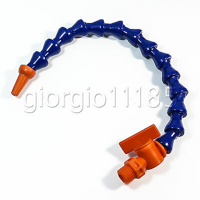 """1/4"""" 28cm Coolant Oil Hose Pipe With Valve Milling"""