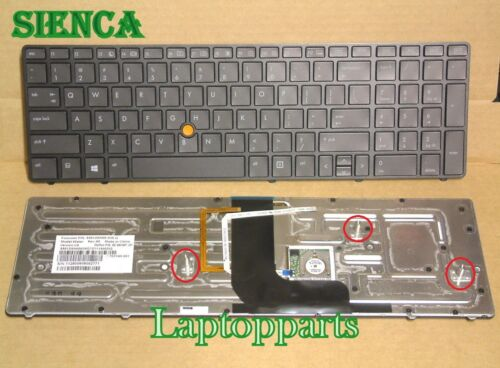 ORIGINAL BRAND NEW Backlit US Keyboad For HP Elitebook 8560w 8570W Series Laptop
