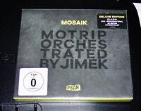 MOTRIP MOSAIK ORCHESTRATED BY JIMEK LIMITIERTE DELUXE EDITION CD + DVD NEU & OVP