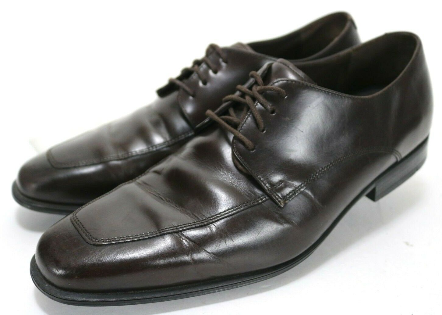 Cole Haan Nik Air  200 Men's Oxford Dress shoes Size 11 Leather Brown
