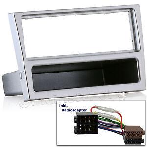 OPEL-Corsa-C-Vectra-Combo-Agila-Omega-B-Radio-Blende-Einbau-Rahmen-Adapter-ISO