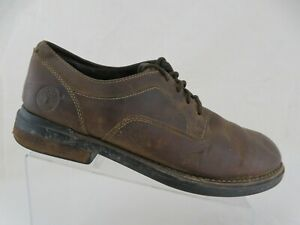 TIMBERLAND-Casual-Brown-Sz-10-5-M-Men-Waterproof-Lace-Up-Oxfords