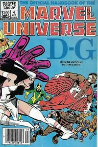 Official-Handbook-Of-The-Marvel-Universe-Comic-4-Bronze-Age-1983-D-G