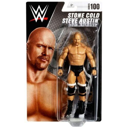 WWE Stone Cold Steve Austin MATTEL BASIC SERIES 100 Wrestling ACTION FIGURE NEW